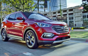 Hyundai Santa Fe Sport 2017 Wallpapers HD