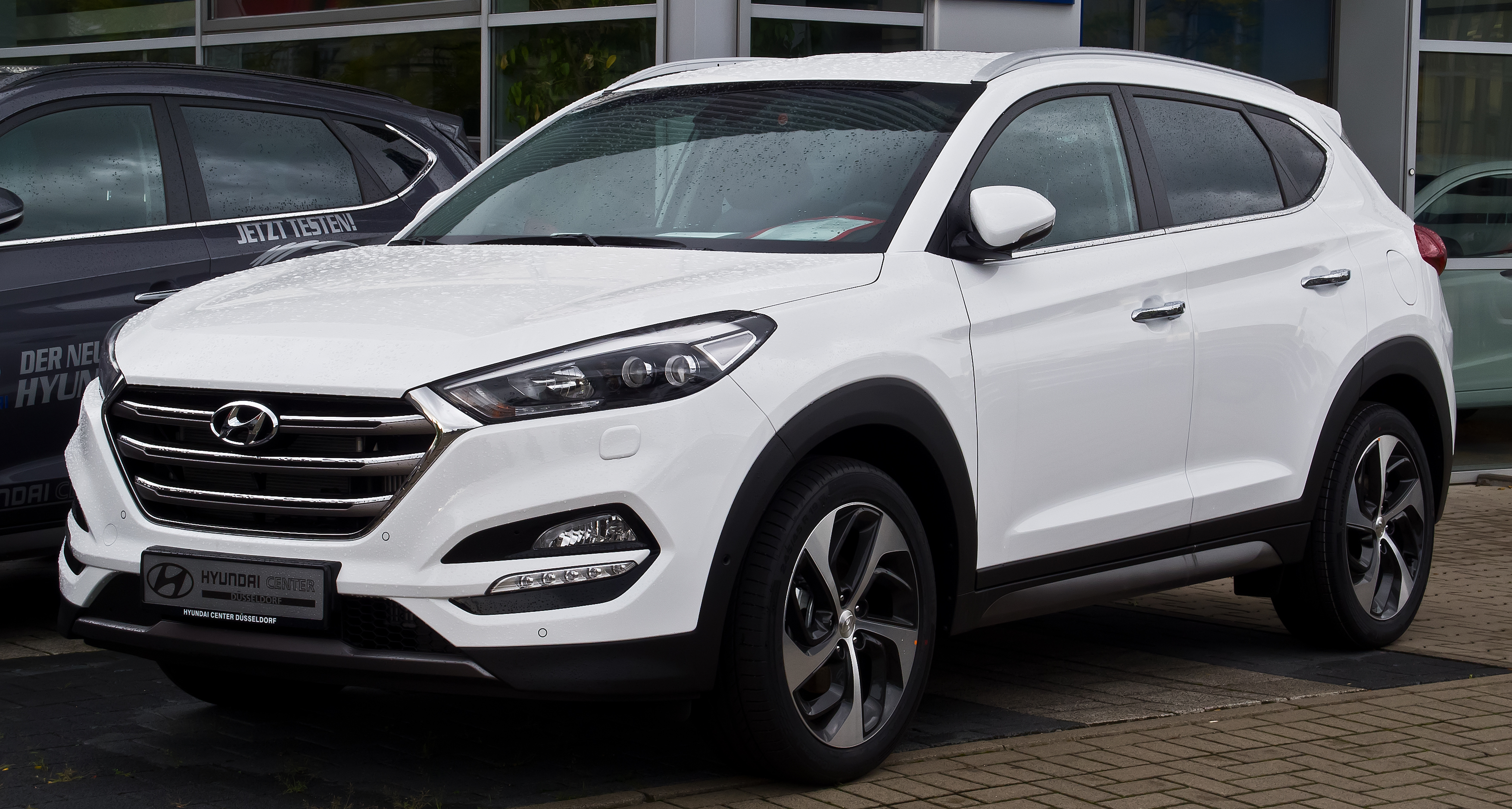Creta 2017 White >> Hyundai Tucson 2017 HD Wallpapers