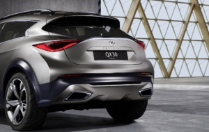 Infiniti QX30 2017 HD Wallpaper