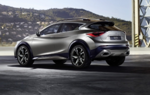 Infiniti QX30 2017 High Quality Wallpapers