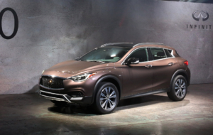 Infiniti QX30 2017 Wallpaper