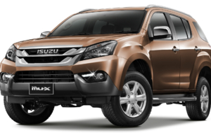 Isuzu MU X 2017 HD Background