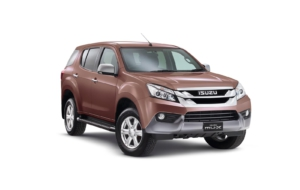 Isuzu MU X 2017 Wallpaper