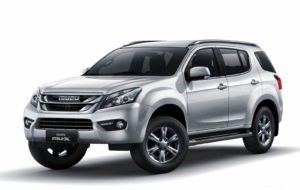 Isuzu MU X 2017 Wallpapers
