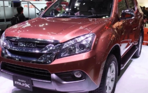 Isuzu MU X 2017 Widescreen