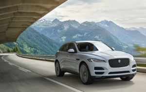 Jaguar F Pace 2017 HD Background