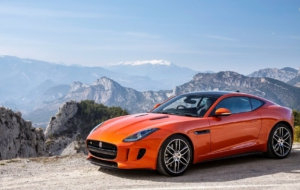Jaguar F Type Coupe HD Desktop