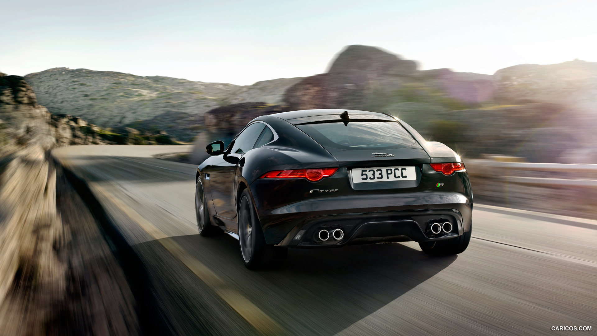 Jaguar f type coupe wallpaper - photo#3