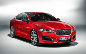 Jaguar XE 2017 HD Background