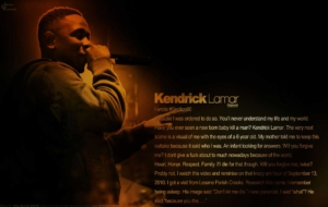 Kendrick Lamar For Deskto