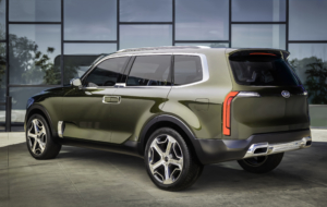 Kia Telluride 2017 Background
