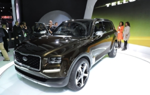 Kia Telluride 2017 HD Wallpaper