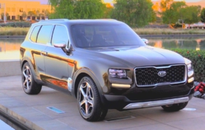 Kia Telluride 2017 Wallpaper