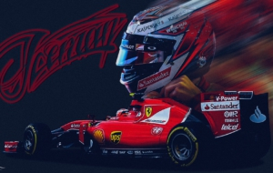 Kimi Raikkonen HD Background