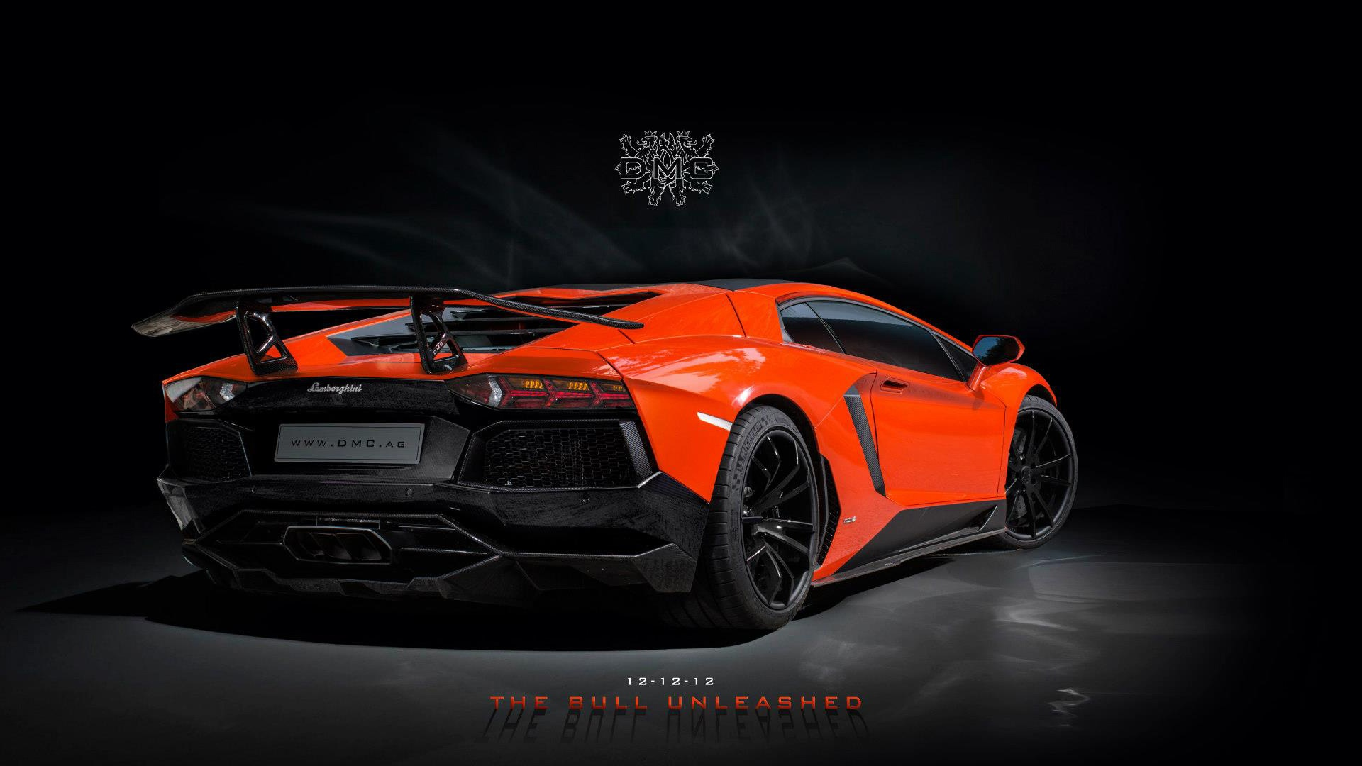 Lamborghini Aventador Roadster Wallpaper Hd 1920x1080 Black