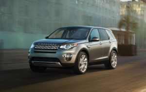Land Rover Discovery Sport Background