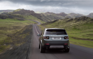 Land Rover Discovery Sport HD Background