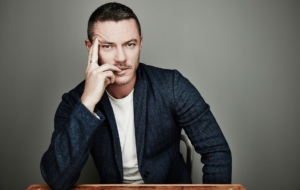Luke Evans HD Wallpaper