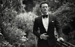 Luke Evans For Deskto