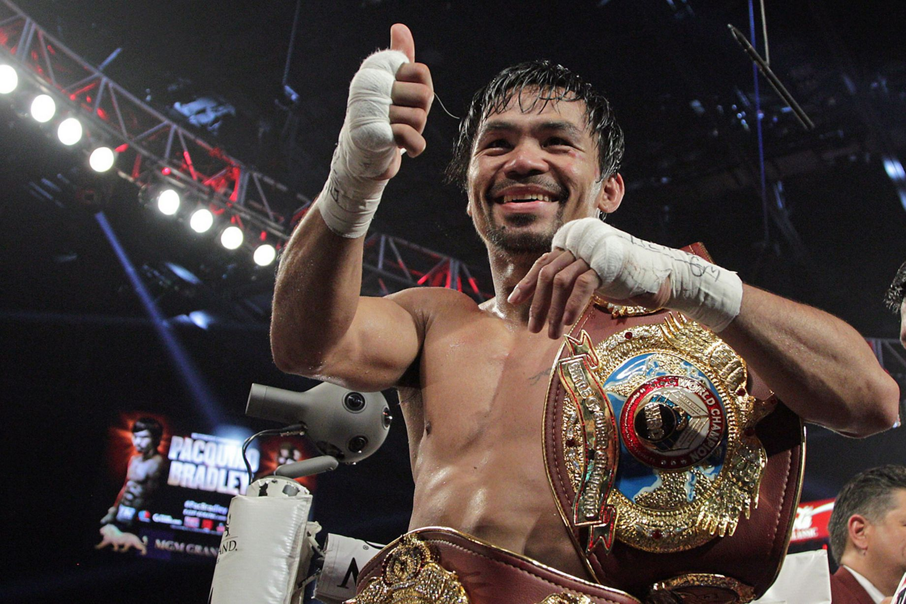 pacquiao The longest day for sports addicts just got considerably longer with confirmation that manny pacquiao's attempt to win yet another world title will be shown live on television here in the very.