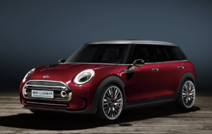 Mini Clubman 2017 HD Background