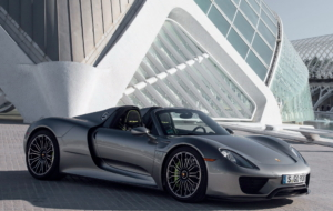 Porsche 918 Spyder 2017 HD Background