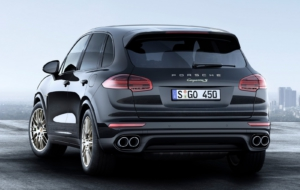 Porsche Cayenne 2017 Background
