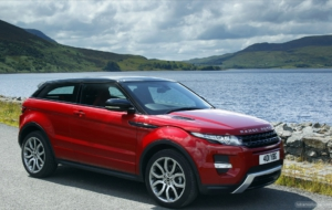 Range Rover Evoque HD Background