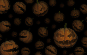 Scary Halloween HD Background