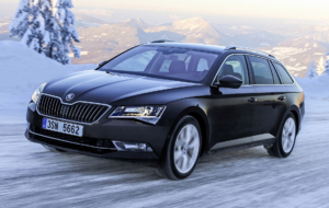 Skoda Superb 2017 Background