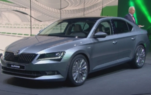 Skoda Superb 2017 Images