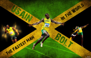 Usain Bolt Background