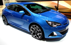 Vauxhall Astra 2017 HD Background