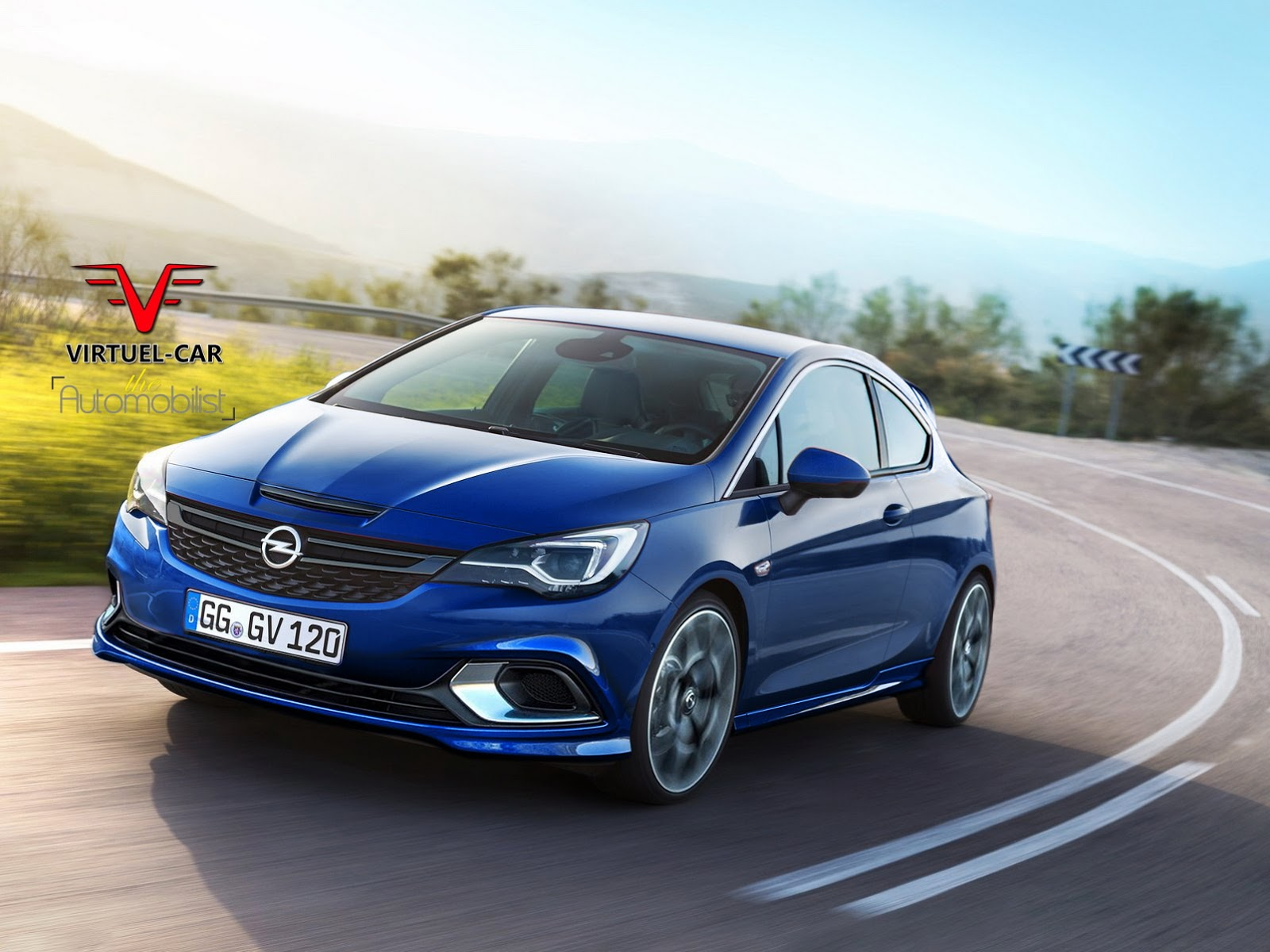 astra opc opel vauxhall corsa turbo wallpapers rendered virtuel tuned neue der liter could autoevolution components hd del la opelastra