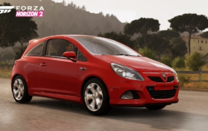 Vauxhall Corsa VXR HD Background