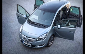 Vauxhall Meriva 2017 Background
