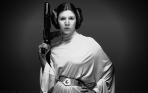 Carrie Fisher Makeu