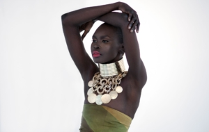Alek Wek Background
