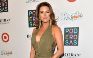 Alicia Machado HD Background