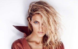 Anja Rubik Background