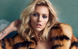 Anja Rubik HD Wallpaper