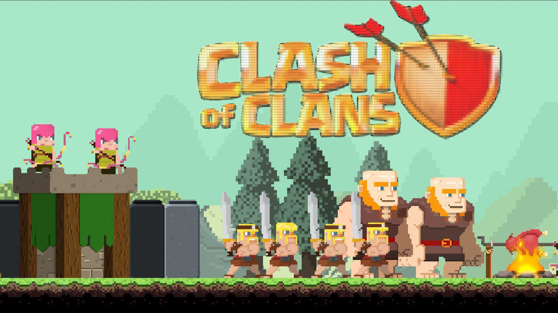 Wallpaper Of Clash Of Clans: Clash Of Clans Wallpapers Backgrounds