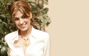 Eva Mendes HD Background