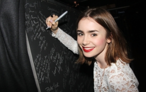 Lily Collins Free HD Wallpapers