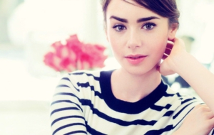 Lily Collins Full HD