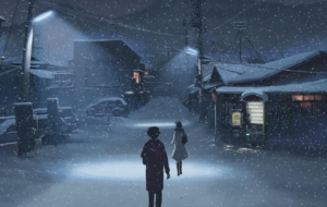 5 Centimeters Per Second Background