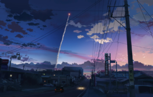 5 Centimeters Per Second For Desktop