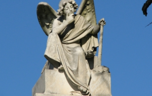 Angel Statue Computer Backgrounds