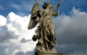 Angel Statue HD Wallpaper