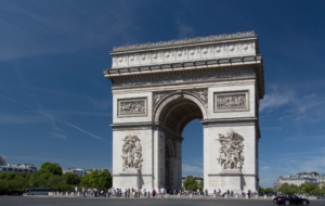 Arc De Triomphe Background
